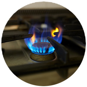 Gas Stove Top